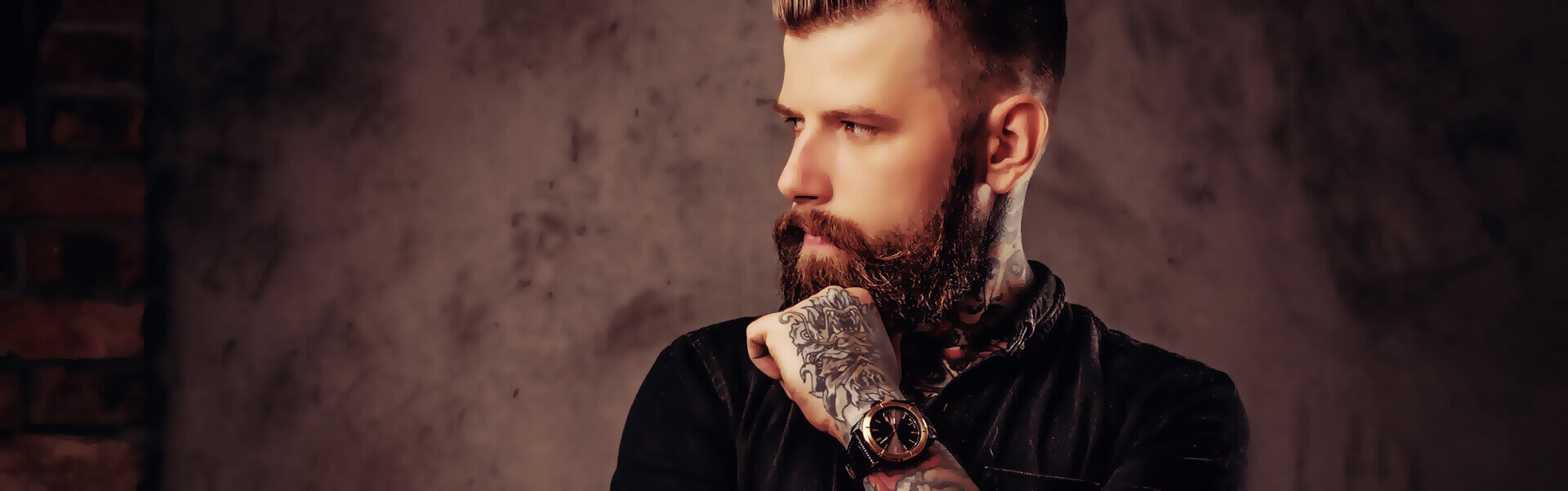 Tattoostudio Header Bild